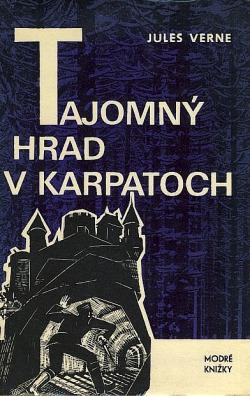 Tajomný hrad v Karpatoch obálka knihy
