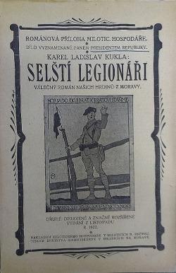 Selští legionáři obálka knihy