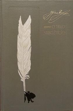 O třech nebožtících obálka knihy