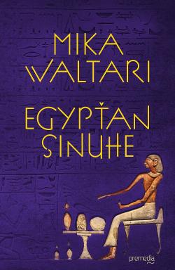 Egypťan Sinuhe obálka knihy