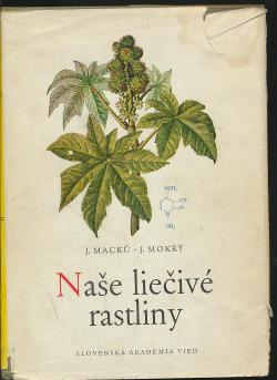 Naše liečivé rastliny obálka knihy