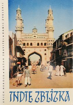 Indie zblízka obálka knihy