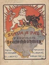 """Sláva a pád """"Provincie Deutschböhmen"""" obálka knihy"""