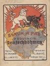 """Sláva a pád """"Provincie Deutschböhmen"""""""