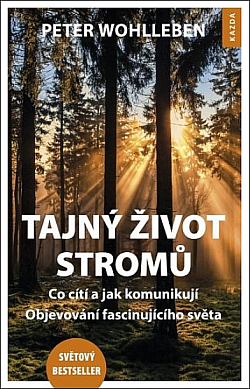 Tajný život stromů obálka knihy