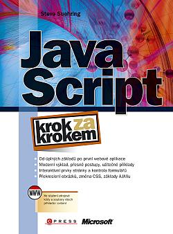 JavaScript krok za krokem obálka knihy