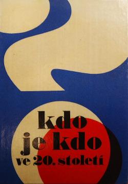 Kdo je kdo ve 20. století obálka knihy