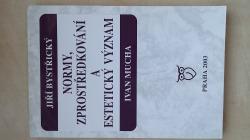 Normy, zprostředkování a estetický význam obálka knihy