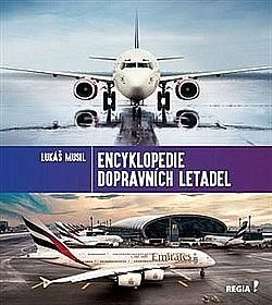 Encyklopedie dopravních letadel obálka knihy