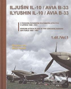 Iljušin IL-10/Avia B-33 (1. díl) obálka knihy