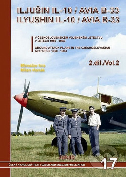 Iljušin IL-10/Avia B-33 (2. díl) obálka knihy