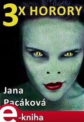 3x horory obálka knihy