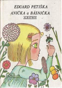 Anička a básnička obálka knihy