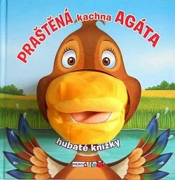 Praštěná kachna Agáta obálka knihy