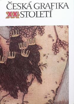 Česká grafika XX. století obálka knihy