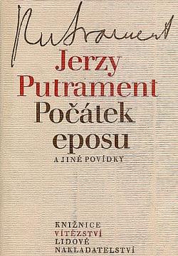 Počátek eposu a jiné povídky obálka knihy