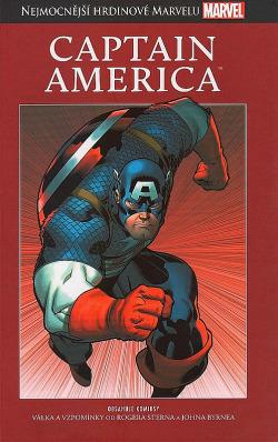 Captain America obálka knihy