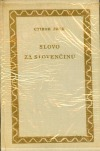 Slovo za slovenčinu