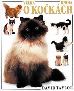 Velká kniha o kočkách obálka knihy