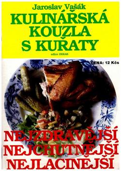 Kulinářská kouzla s kuřaty obálka knihy