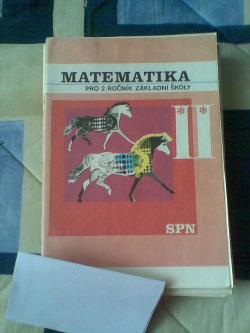 Matematika pro 2. ročník základní školy   II. obálka knihy