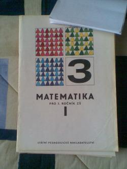 Matematika pro 3. ročník ZŠ  I. obálka knihy