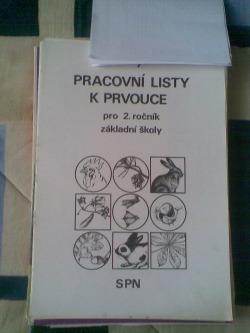 Pracovní listy k prvouce pro 2. ročník ZŠ obálka knihy