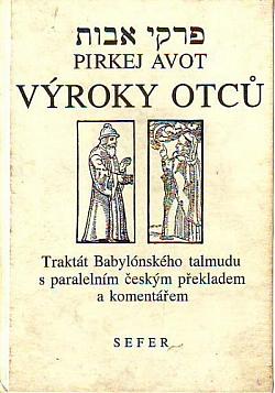 Výroky otců / Pirkej Avot obálka knihy
