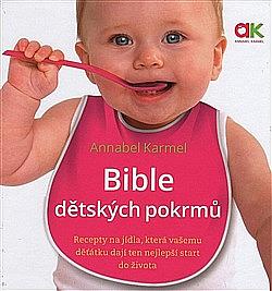 Bible dětských pokrmů obálka knihy