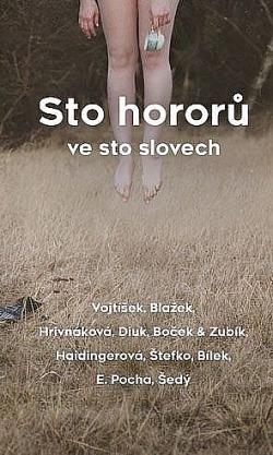 Sto hororů ve sto slovech obálka knihy