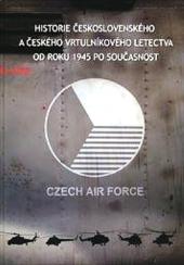 Historie československého a českého vrtulníkového letectva od roku 1945 po současnost obálka knihy