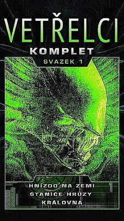 Vetřelci komplet - svazek 1 obálka knihy