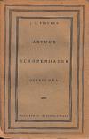 Arthur Schopenhauer: genese díla