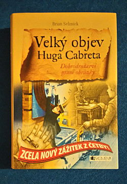 Velký objev Huga Cabreta obálka knihy