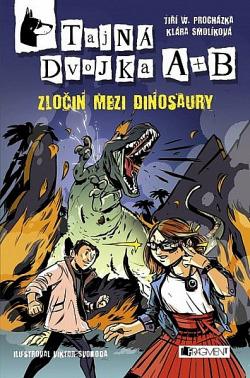 Zločin mezi dinosaury obálka knihy