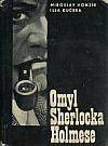 Omyl Sherlocka Holmese obálka knihy
