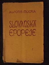 Slovanská epopeje obálka knihy