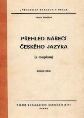 Přehled nářečí českého jazyka (s mapkou)