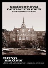 Německý dům. Německé spolky obálka knihy