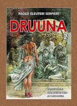Druuna 2 obálka knihy