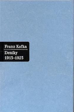Deníky 1913-1923 obálka knihy