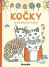 Kočky - omalovánky pro dospělé
