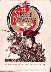 Ze Slezské domoviny obálka knihy