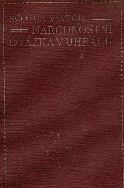 Národnostní otázka v Uhrách obálka knihy