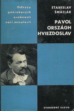 Pavol Országh Hviezdoslav obálka knihy
