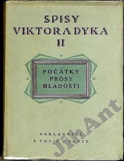 Počátky obálka knihy