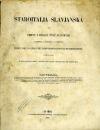 Staroitalia slavjanská aneb Objevy a důkazy živlů slavských v zeměpisu, v dějinách a v bájesloví