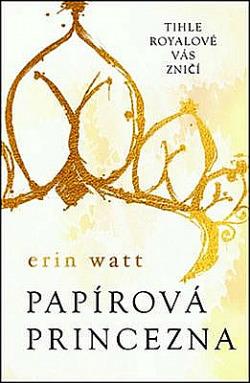 Papírová princezna obálka knihy