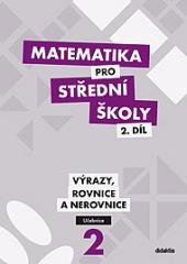 Matematika pro SŠ – 2. díl obálka knihy