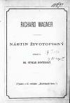 Richard Wagner : nástin životopisný